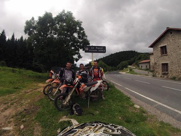 2 jours de moto avec les gars d'Aix!!